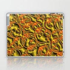 golden metall pattern Laptop & iPad Skin