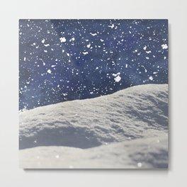 Snow Time Metal Print