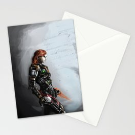 Our Commander Shepard Stationery Cards