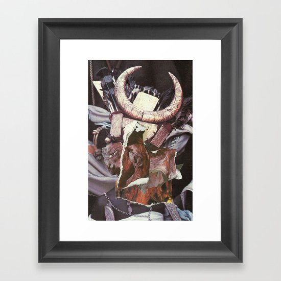 Even had its outlines been unfamiliar Framed Art Print