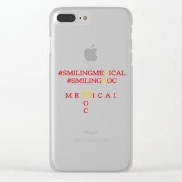 smilingMedicalsmilingDoc Clear iPhone Case