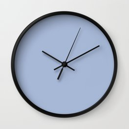 Pale blue grey Wall Clock