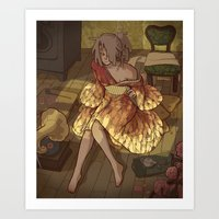 The Light Room Art Print
