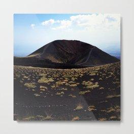Mount Etna Sicily Metal Print