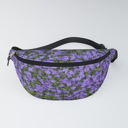 Tiny Purple Flowers Fanny Pack