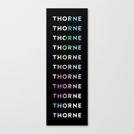Logo Gradient Canvas Print