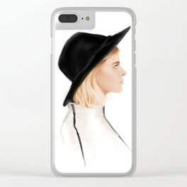 Zoe Clear iPhone Case