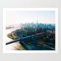 [№4] New York in a Daydream Art Print