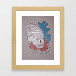 THE CANDY COAT Framed Art Print