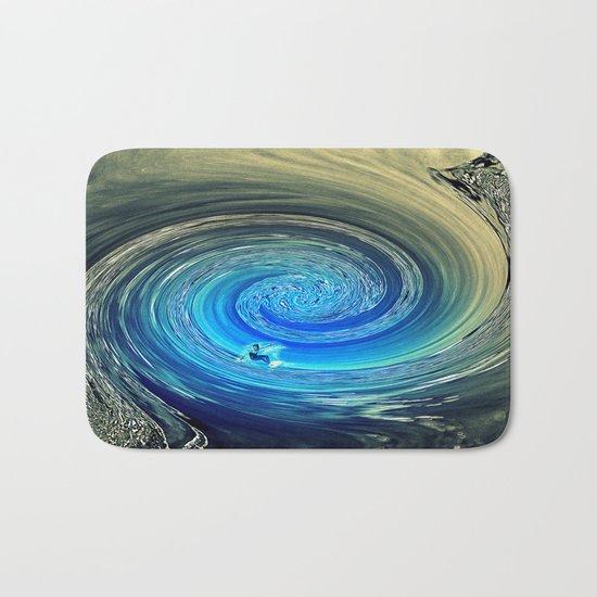 Surf Spiral Bath Mat