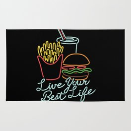 Live Your Best Life Rug