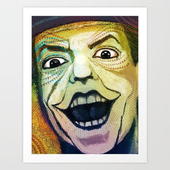 Joker Old Art Print