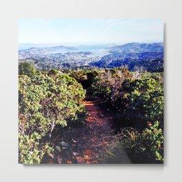 San Francisco from Mount Tam Metal Print