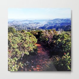 San Francisco from Mount Tam Metal Print
