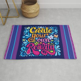 Create your own reality Rug
