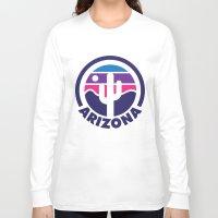 arizona Long Sleeve T-shirts featuring Arizona by Lopez91