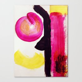 Neon Abstract Canvas Print