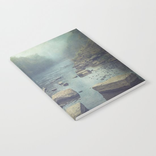 Stones in A River Notebook