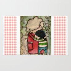 Hug - by Diane Duda Rug