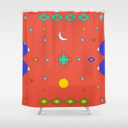 South America Dreaming Shower Curtain
