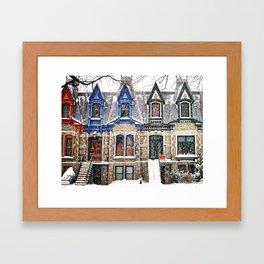 The Enchanting Winter Framed Art Print