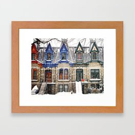 The Enchanting Winter Framed Art Print