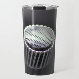 Old microphone detail Travel Mug