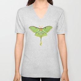 Luna Moth (Actias luna) II Unisex V-Neck