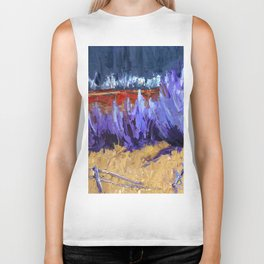 Winter Imagined Biker Tank