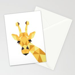 a giraffe Stationery Cards