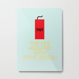 The Life Aquatic with Steve Zissou Metal Print