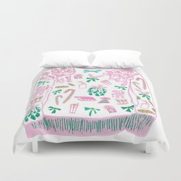 Ugly (but cute) Christmas Sweater Duvet Cover