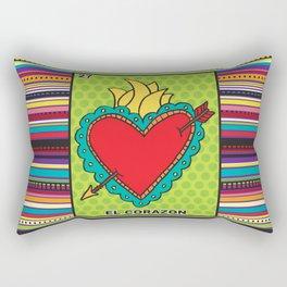 El Corazon Rectangular Pillow