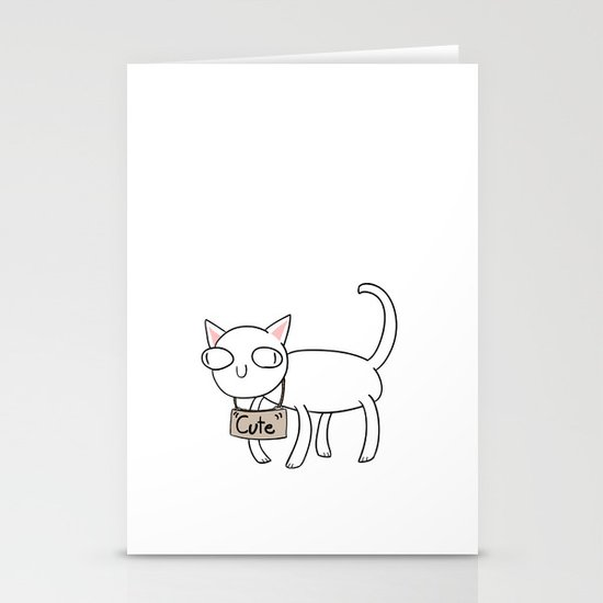 """""""Cute"""" Stationery Cards"""
