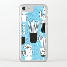 Cactus 2 Clear iPhone Case