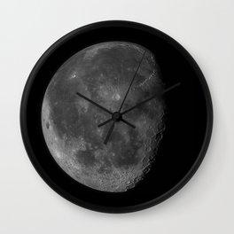Moon (High Detail) Wall Clock