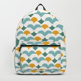 Geometric modern abstract pattern 03 Backpack