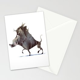 warthog Stationery Cards