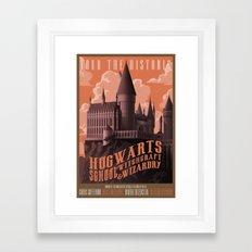 Tour Hogwarts  Framed Art Print