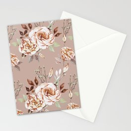 The calm - blush Stationery Cards