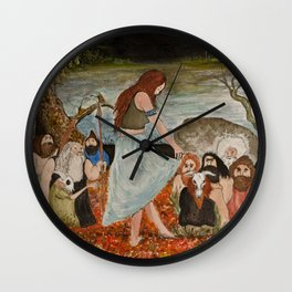 Utenlandske Wall Clock