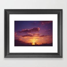 Morning Hues Framed Art Print