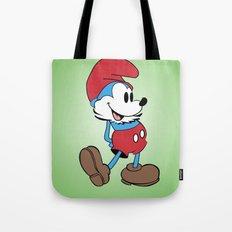 Mickey x Papa Smurf Tote Bag