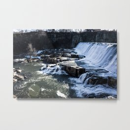 Upstate New York Waterfall Metal Print