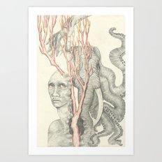 Torment Art Print
