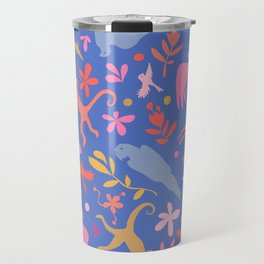 Frid Menagerie in Azul Travel Mug