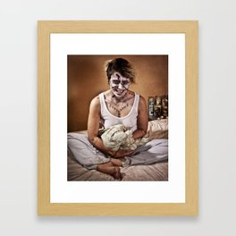 possessed Framed Art Print