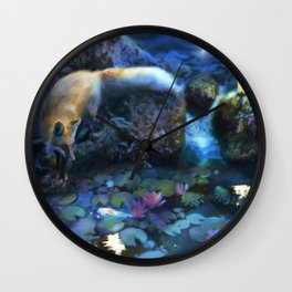 The Fable Keepers Wall Clock