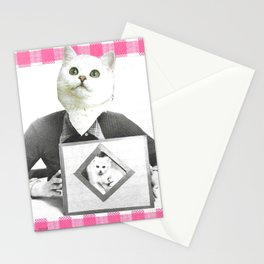 Proud Mumma handcut collage Stationery Cards