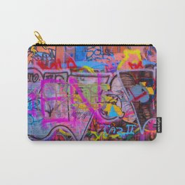 Bright Graffiti Carry-All Pouch